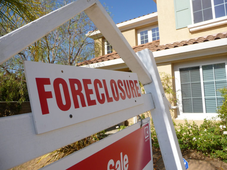 House being foreclosed?